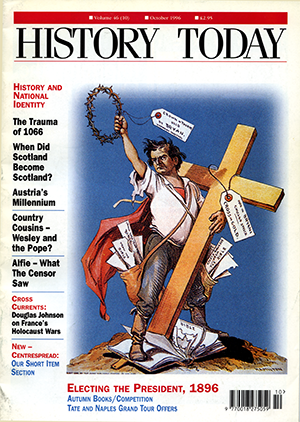 Front cover of October 1996.