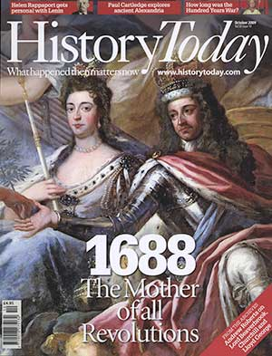 Front cover of the October 2009 issue.
