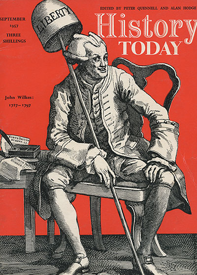 Front cover of the September 1957 issue.