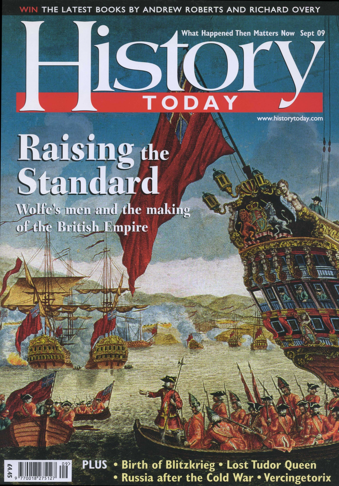 Front cover of the September 2009 issue.