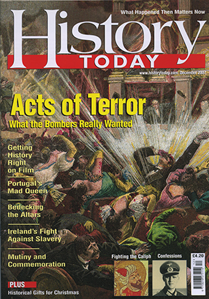 Front cover of the December 2007 issue.