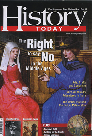 Front cover of the February 2008 issue.