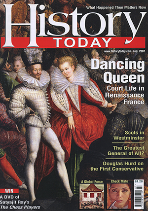 Front cover of July 2007 issue.