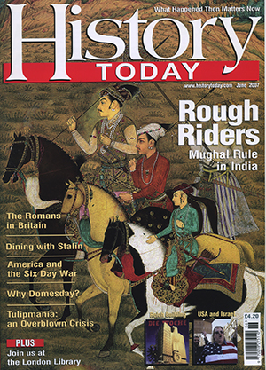 Front cover of the June 2007 issue.