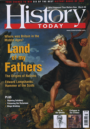 Front cover of the March 2008 issue.