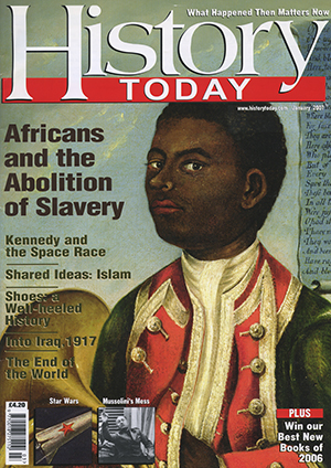 Front cover of the March 2007 issue.