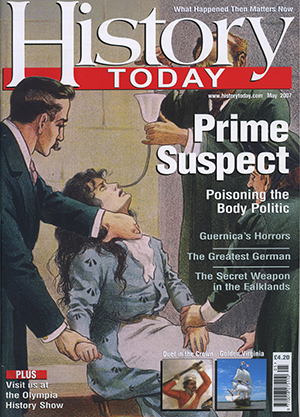 Front cover of the May 2007 issue.