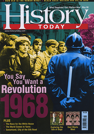 Front cover of the May 2008 issue.