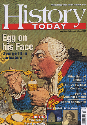 Front cover of October 2007 issue.