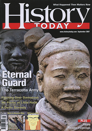Front cover of September 2007 issue.