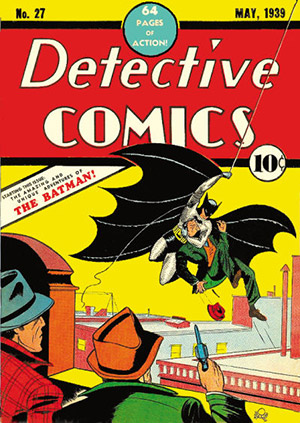 The Detective Comics edition featuring Batman's first appearance