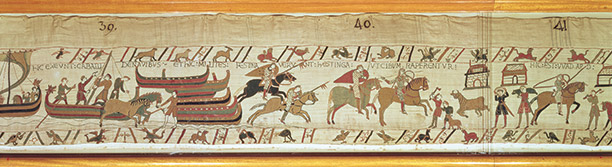 The Bayeux Tapestry is both a rich source and a riveting account of the events of 1066