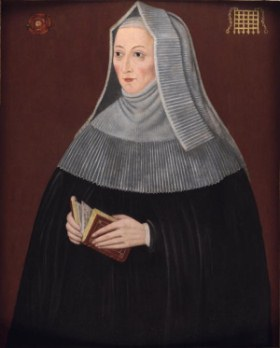 Portrait of Lady Margaret Beaufort, mother of Henry VII