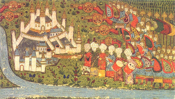Ottoman miniature of the Siege of Belgrade