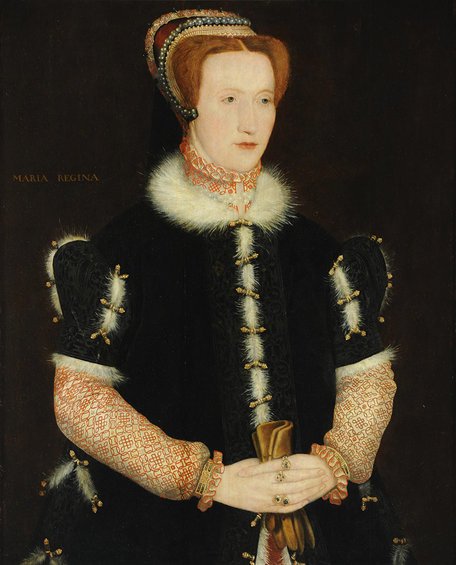 Experienced woman: Elizabeth Hardwick, Countess of Shrewsbury, by Hans Eworth, 1560s.