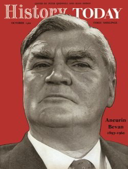 The cover of History Today, October 1960
