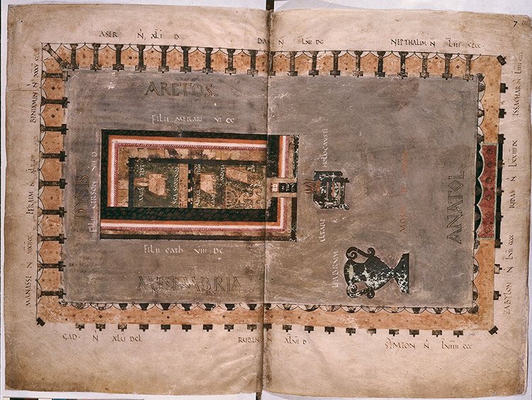 The Tabernacle page of the Codex Amiantinus