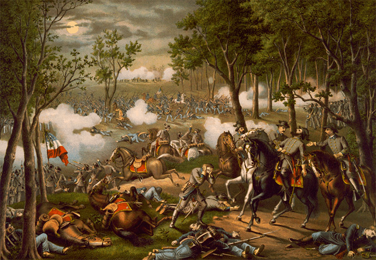 Battle of Chancellorsville, May 2-4, 1863