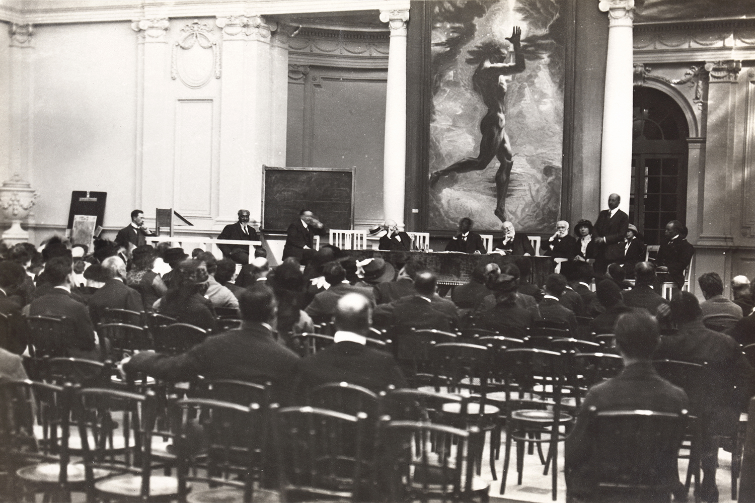 The Second Pan-African Congress, the Palais Mondial, September 1921.