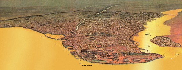 Constantinople in Byzantine times