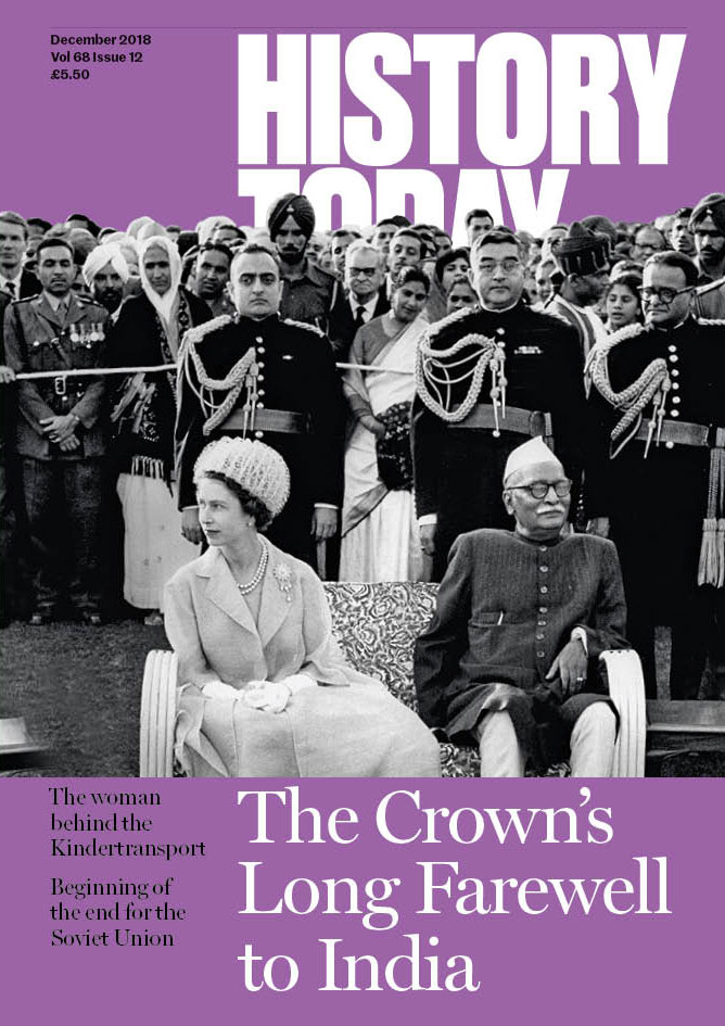 Cover of the December issue.