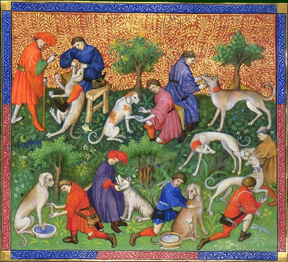 Book of the Hunt, Gaston III, Count of Foix, 1387–88.