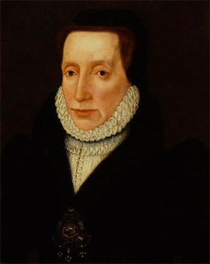 Painting of Lady Margaret Douglas from 1560-1565. Unknown author.