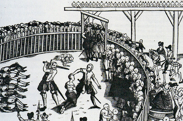 Execution of Pirates in Hamburg, 1573