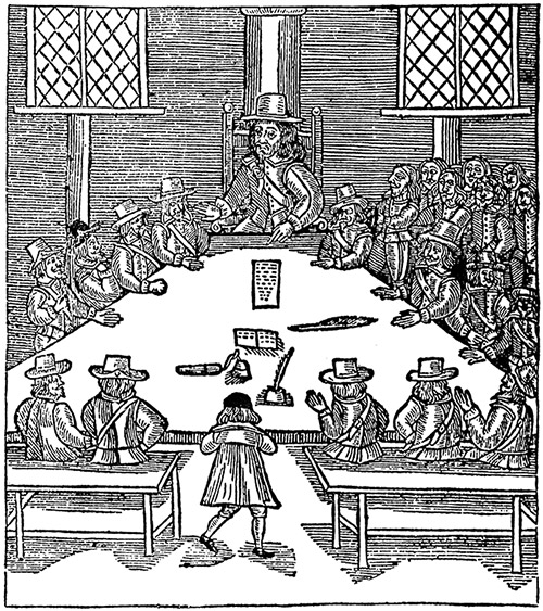 Sir Thomas Fairfax presiding over the Council of the Army, 1647