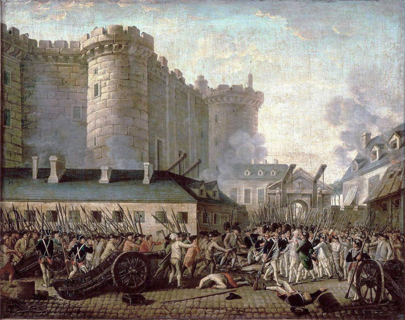 Storming of the Bastille, 14 July 1789