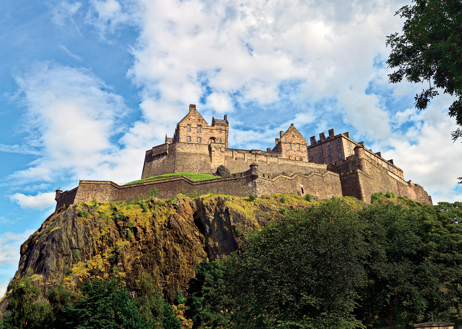 Edinburgh Castle from the west