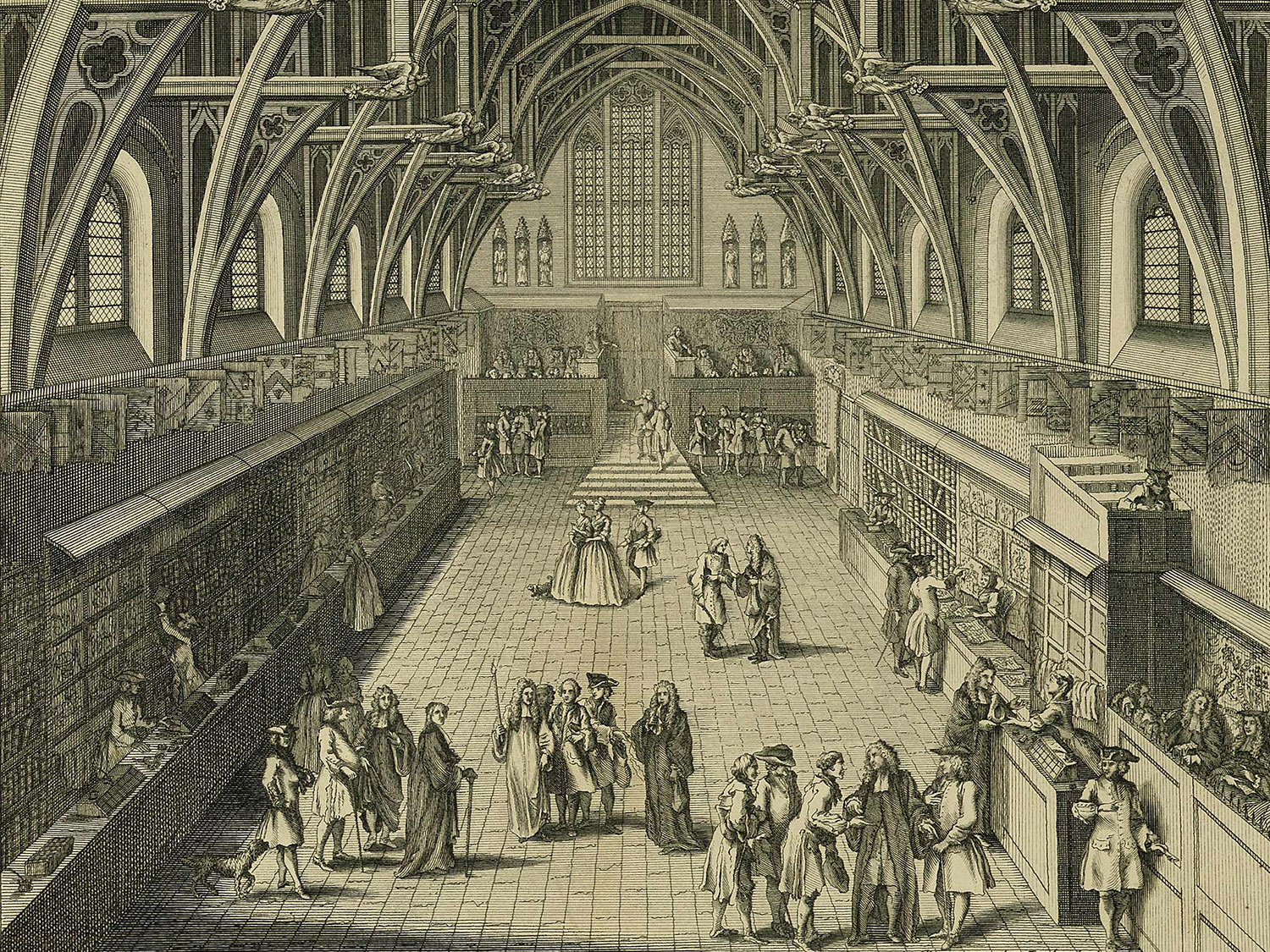 Westminster Hall, 1730