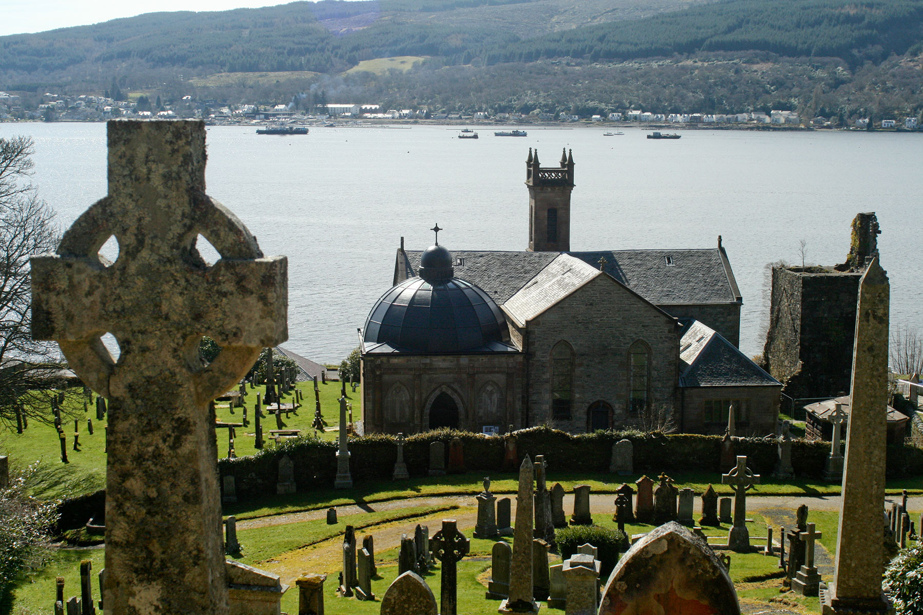 The Argyll Mausoleum, Kilmun. (Thomas McKillop)