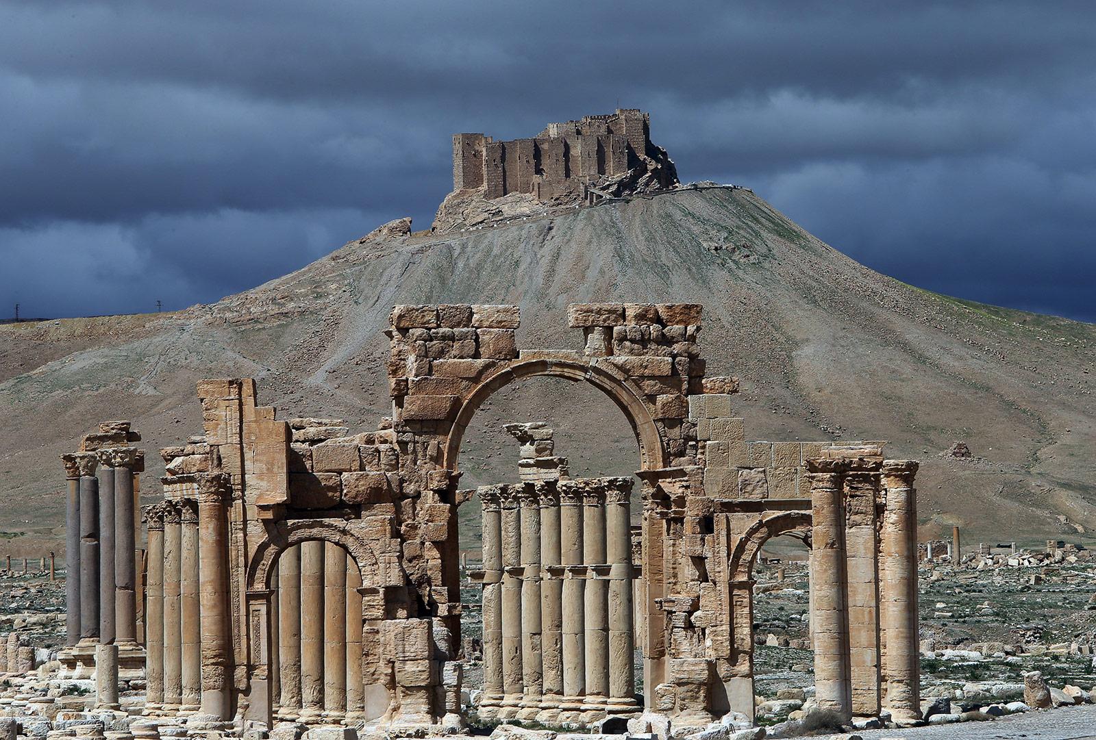 Ancient Palmyra, March 2014