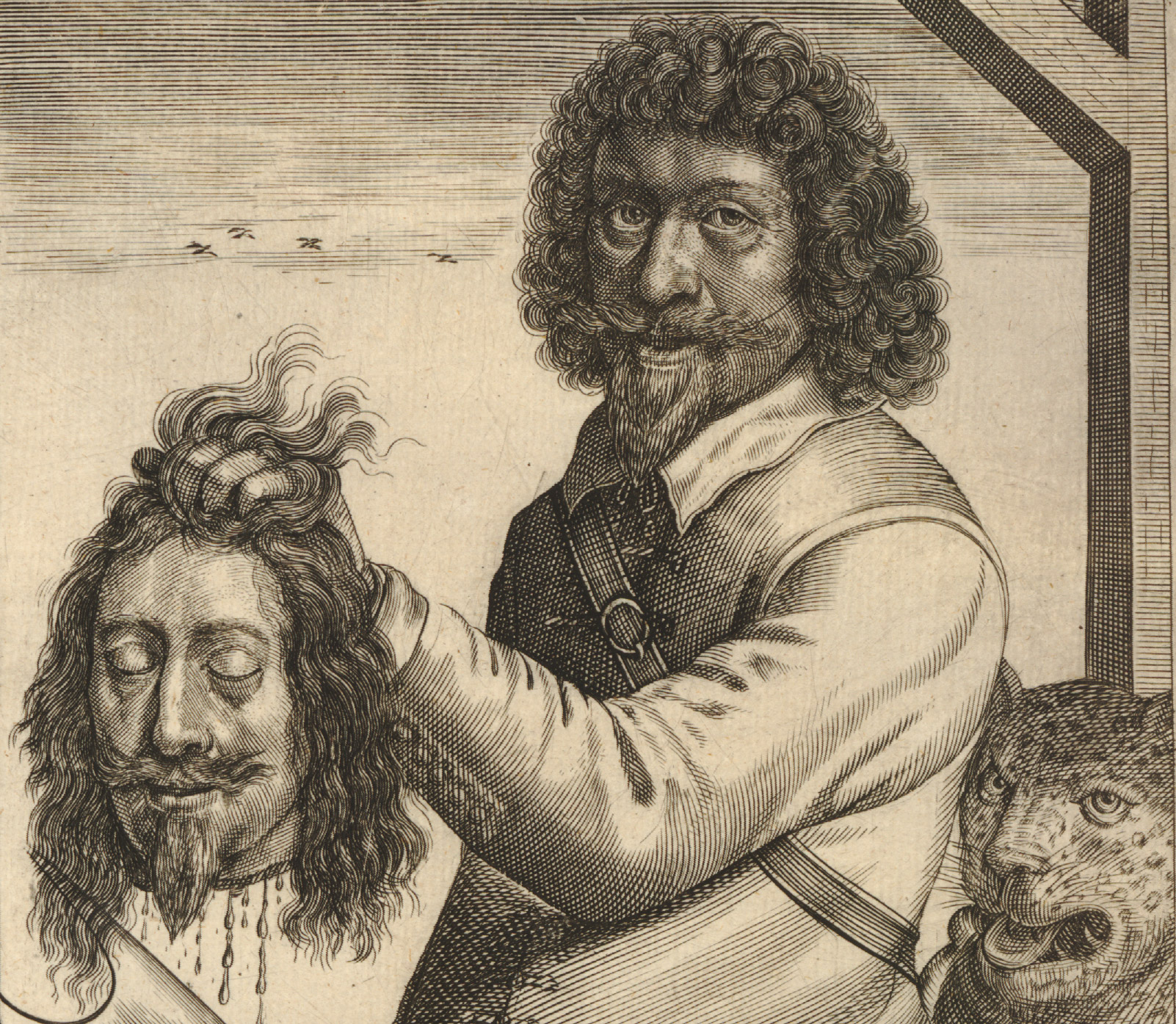 Fairfax the regicide in a Dutch pamphlet, 1649. British Museum