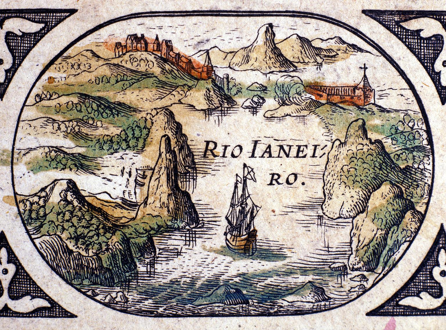 View of Rio de Janeiro, 1600