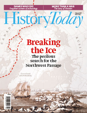 Cover of the February 2017 issue