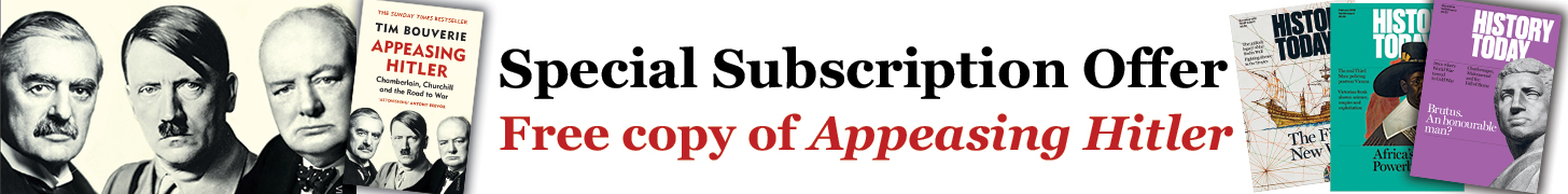 History Today Subscription Offer