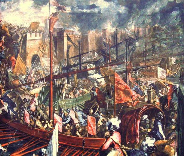 Capture of Constantinople by the Fourth Crusade in 1204