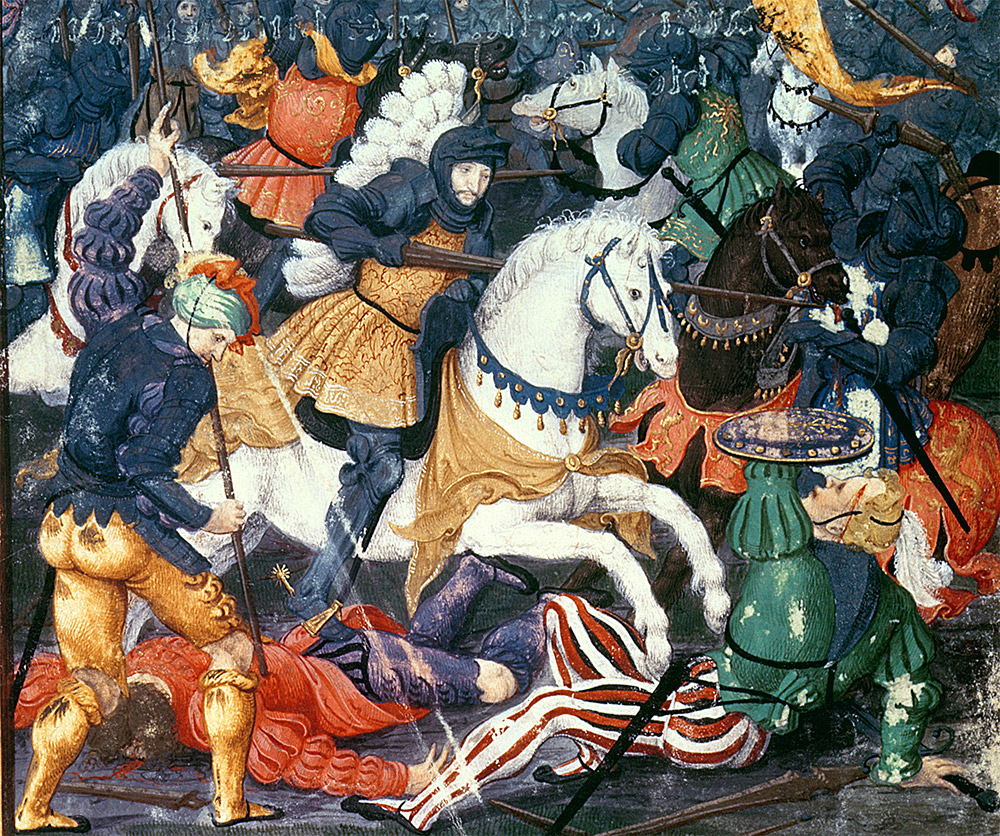Francis I at the Battle of Marignano, 14th September 1515, 16th century