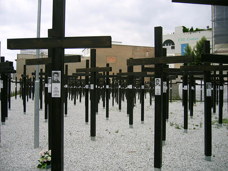 The Freedom Memorial, Berlin, June 2005.
