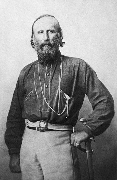 Giuseppe Garibaldi in 1861