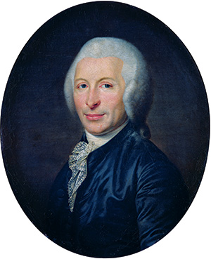 Infamous name: Joseph-Ignace Guillotin in a contemporary portrait