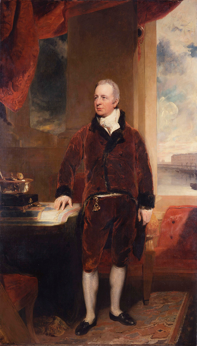 George Hibbert by Thomas Lawrence, 1811.
