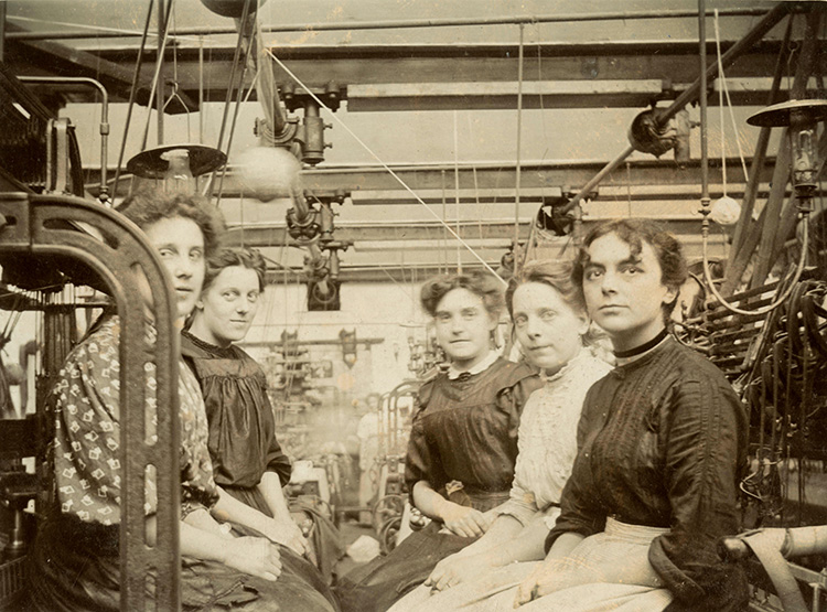 Image result for Manchester cotton industry women