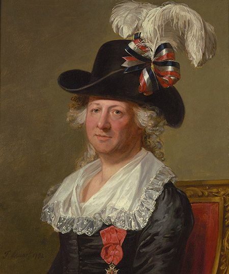 One among many: the Chevalier d'Eon, by Thomas Stewart,  18th century.  © Bridgeman Images;
