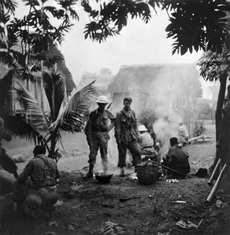 At war: French soldiers in Madagascar, May 1947 Ⓒ AFP/Getty Images
