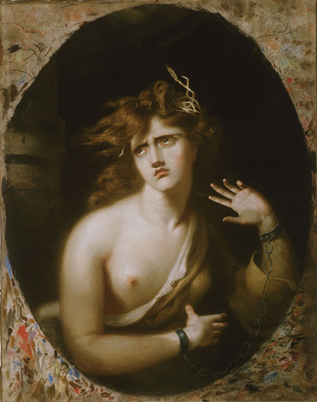 Thomas Lawrence, Mad Girl, 1786 (Philadelphia Museum of Art)