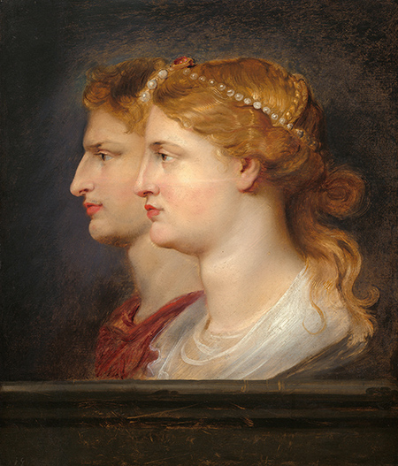 Power couple: Agrippina and Germanicus by Peter Paul Reubens, c.1614. Alamy