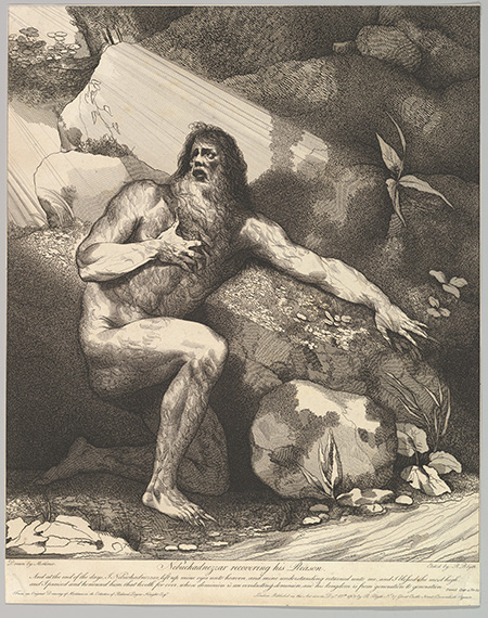 Robert Blyth, Nebuchadnezzar Recovering his Reason, 1781 (Metropolitan Museum, New York/ Rogers Fund, 1962)